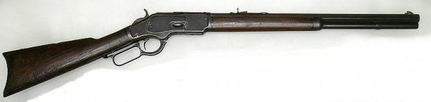 winchester 1873 gun that won the west courtesy adamsguns dot com
